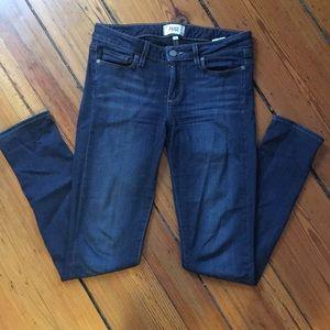 Women's Paige skyline skinny jeans- size 28